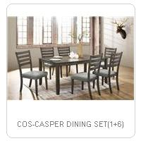 COS-CASPER DINING SET(1+6)